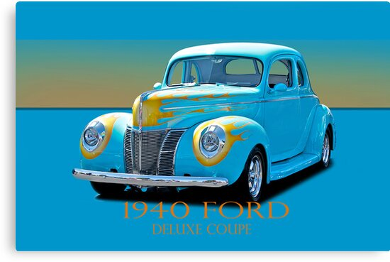 1940 Ford Deluxe Coupe w/ID by DaveKoontz