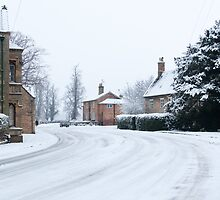 Belton, covered in Snow. by CJTill