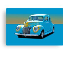 1940 Ford Deluxe Coupe w/o ID Canvas Print