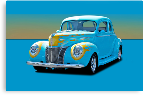 1940 Ford Deluxe Coupe w/o ID by DaveKoontz