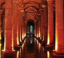 The Basilica Cistern by BlackhawkRogue