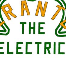 Scranton Parade Day - Orange & Green Solid Sticker