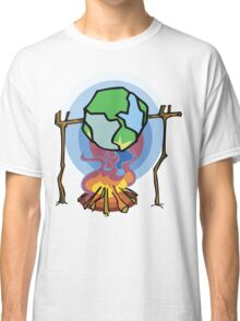 Global Warming Earth Day Classic T-Shirt