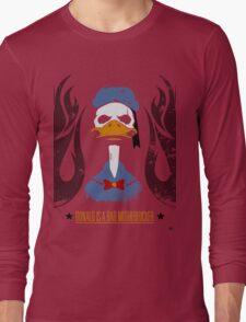 Donald Duck Bad Motherfucker Long Sleeve T-Shirt