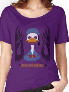 Donald Duck Bad Motherfucker Women's Relaxed Fit T-Shirt