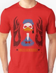 Donald Duck Bad Motherfucker Unisex T-Shirt