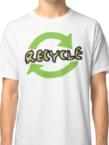 """Earth Day """"RECYCLE"""" Classic T-Shirt"""