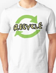 """Earth Day """"RECYCLE"""" Unisex T-Shirt"""