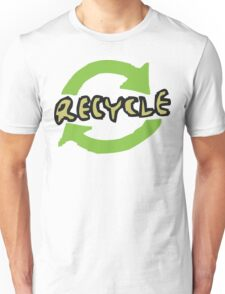 "Earth Day ""RECYCLE"" Unisex T-Shirt"