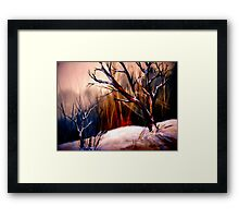 Morning.. Framed Print