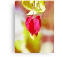 Red Balloon Blossom  VRS2 Canvas Print