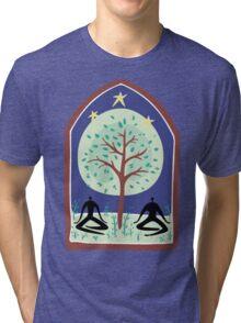 "Earth Day ""Tree Spirit"" Tri-blend T-Shirt"