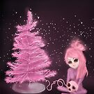 Intercosmic Christmas in Pink by ROUBLE RUST