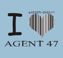 I Heart Agent 47 by ScottW93