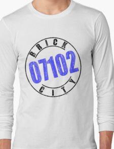 'Brick City 07102' Long Sleeve T-Shirt