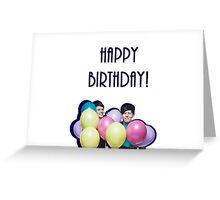 Phan Birthday Greeting Card