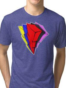Powerful Lightning Tri-blend T-Shirt