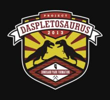Project Daspletosaurus Tee - Dark Color T-Shirt