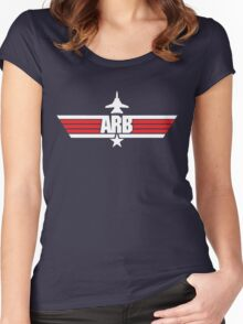 Custom Top Gun Style - ARB Women's Fitted Scoop T-Shirt