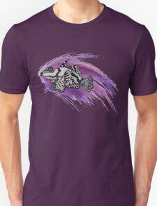Zentangle Fish & Watercolor Splash T-Shirt