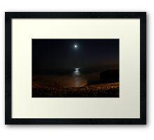 Water Moon Framed Print