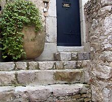 Centuries Old Stone Steps by phil decocco