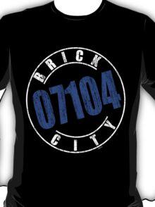 'Brick City 07104' (w) T-Shirt