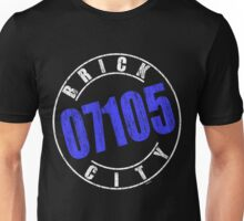'Brick City 07105' (w) Unisex T-Shirt