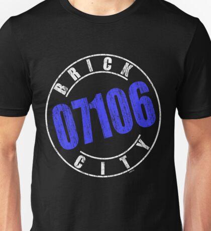 'Brick City 07106' (w) Unisex T-Shirt