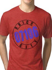 'Brick City 07106' Tri-blend T-Shirt