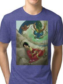 Li Chi - Rejected Princesses Tri-blend T-Shirt