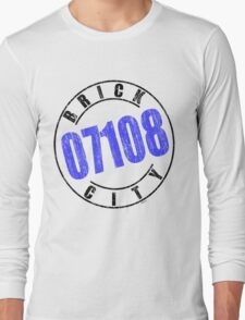'Brick City 07108' Long Sleeve T-Shirt