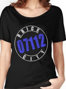 'Brick City 07112' (w) Women's Relaxed Fit T-Shirt