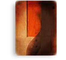 Orange Shades Number 6 Canvas Print