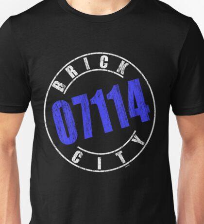 'Brick City 07114' (w) Unisex T-Shirt