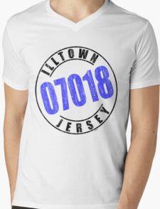 'Illtown 07018' Mens V-Neck T-Shirt