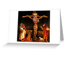Jesus Died for Somebodys Sin But Not Mine. Greeting Card