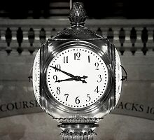 Grand Central Clock NYC by fernblacker