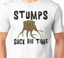Earth Day Stumps Suck Unisex T-Shirt
