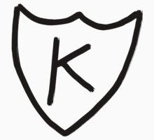 Kurt Cobain - K tattoo, K records  by Jeanette  Treacy