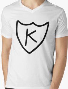 Kurt Cobain - K tattoo, K records  Mens V-Neck T-Shirt