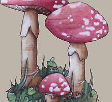 Magic Mushroom by Rayne Karfonta