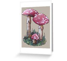 Magic Mushroom Greeting Card