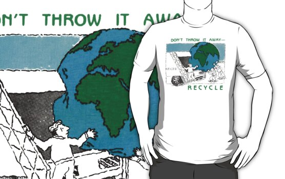 Earth Day Recycle by HolidayT-Shirts
