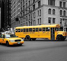 Streets of New York by fernblacker