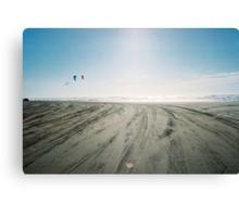 Beach Lines Canvas Print