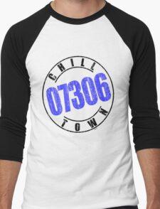 'Chilltown 07306' Men's Baseball ¾ T-Shirt