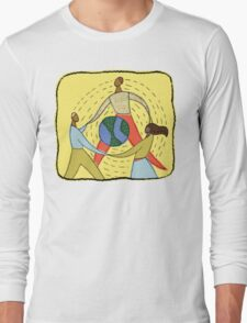 Celebrate Earth Day Long Sleeve T-Shirt