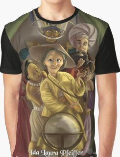 Ida Laura Pfeiffer - Rejected Princesses Graphic T-Shirt