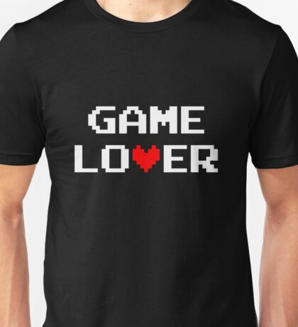 Game lover (white) Unisex T-Shirt